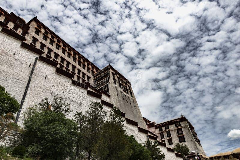 Das Potala-Palast in Lhasa, Tibet stockfoto