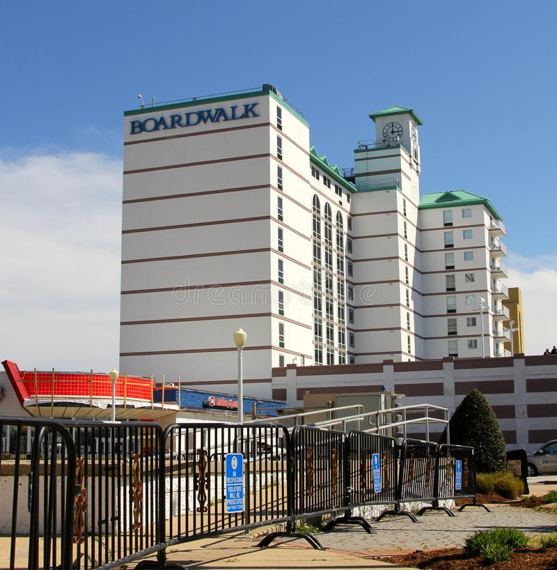 Das Promenaden-Hotel Virginia Beach USA stockbild
