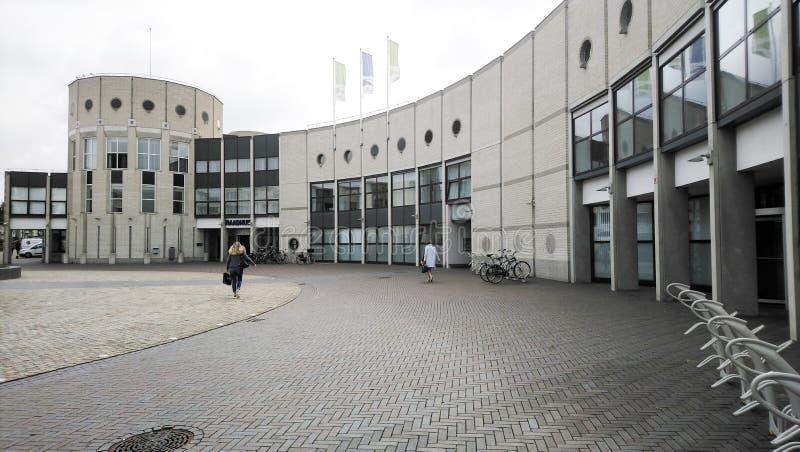 Das Rathaus des Dorfs von Landgraaf lizenzfreie stockfotos