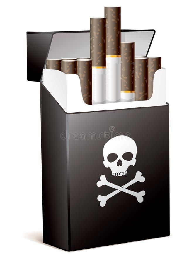 Das Rauchen ist für Ihre Gesundheit falsch vektor abbildung