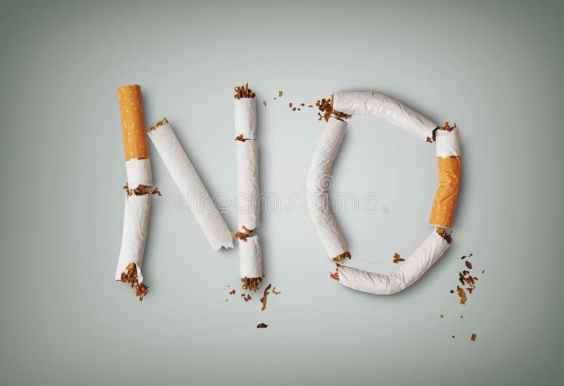 das Rauchen ist tot lizenzfreie stockfotos