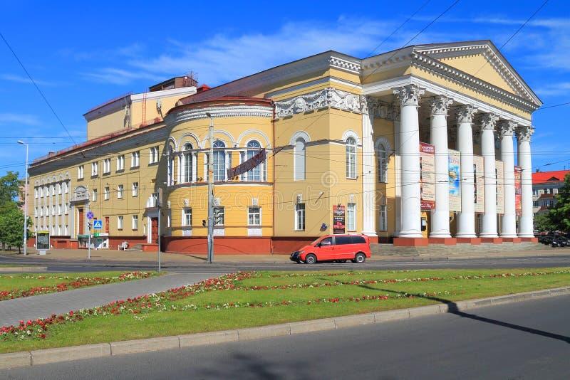 Das regionale Dramatheater Kaliningrads lizenzfreies stockfoto