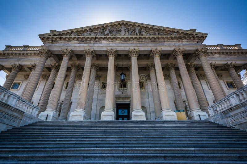Das Repräsentantenhaus Vereinigter Staaten errichtend beim Capit stockbilder