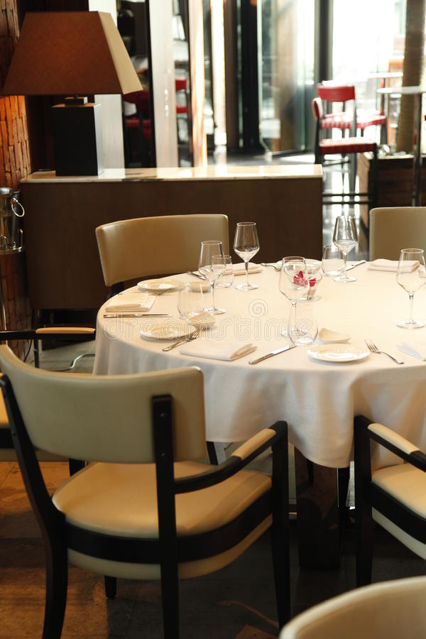 Das Restaurant lizenzfreie stockfotografie