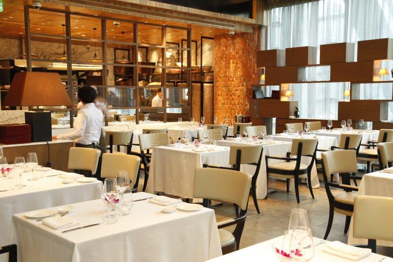 Das Restaurant stockbilder