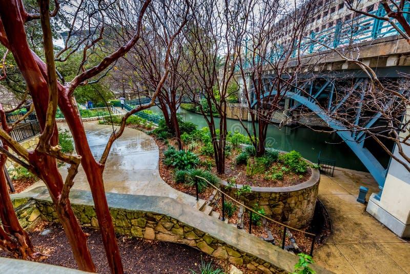 Das Riverwalk in San Antonio, Texas stockfotografie