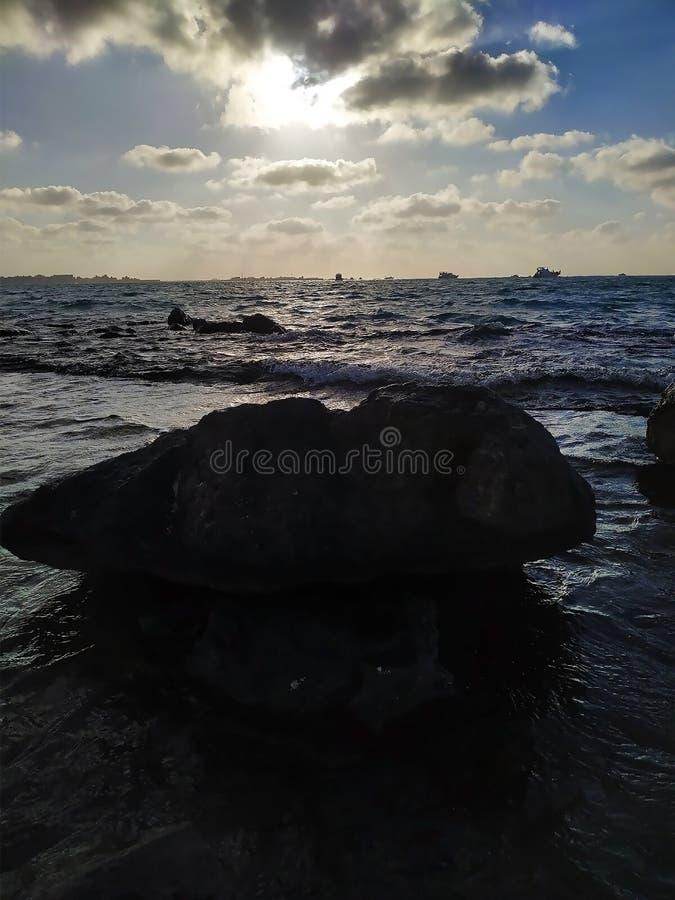 Das Rote Meer von Hurghada, Ägypten lizenzfreie stockfotografie