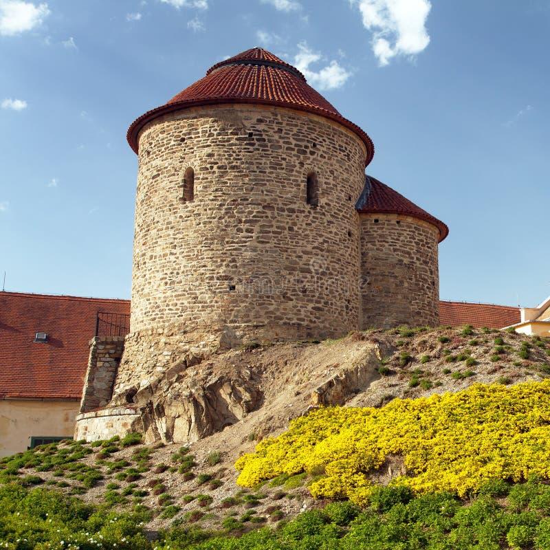 Das Rundbau von StCatherine, Znojmo, Tschechische Republik lizenzfreie stockfotos