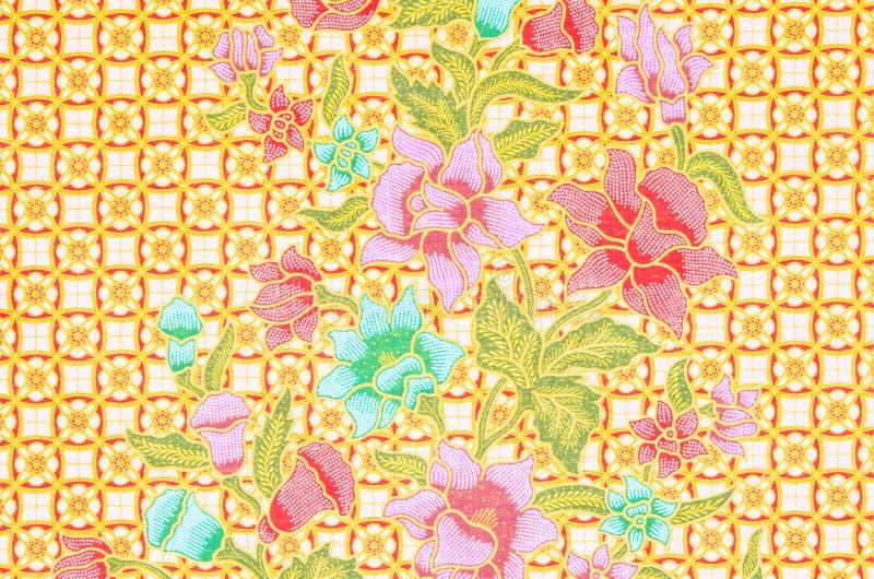 Das schöne des Batik-Musters lizenzfreie abbildung