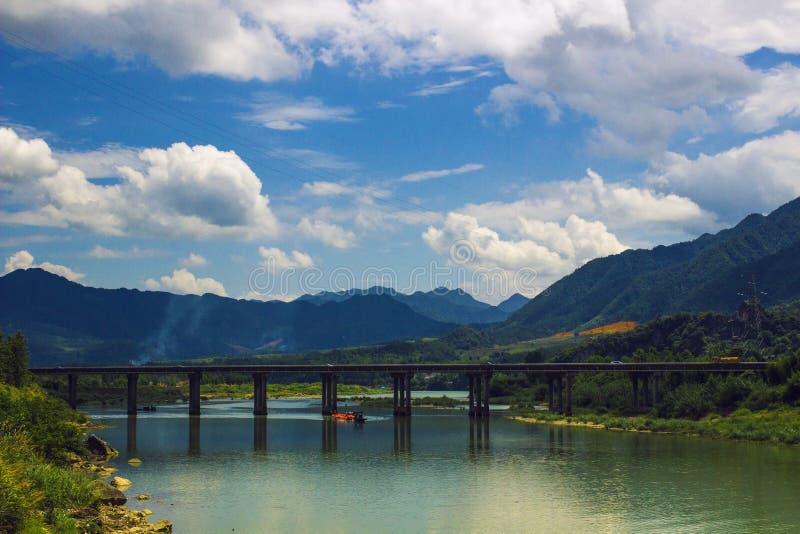 Das schöne Landschaftsbild stockfotografie