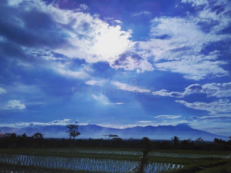 Das schöne von Semeru-Berg lizenzfreie stockfotos