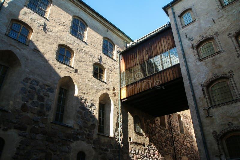 Das Schloss in Turku in Finnland lizenzfreies stockfoto