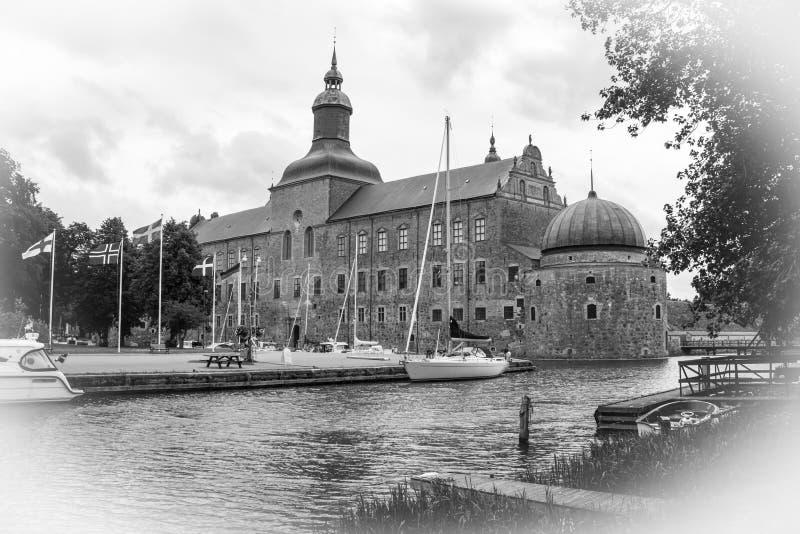 Das Schloss. Vadstena. Schweden lizenzfreie stockbilder