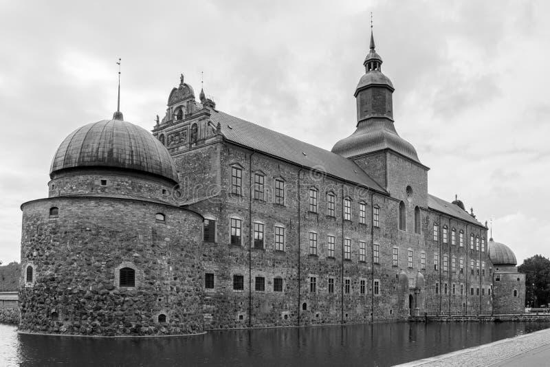 Das Schloss. Vadstena. Schweden lizenzfreie stockfotos