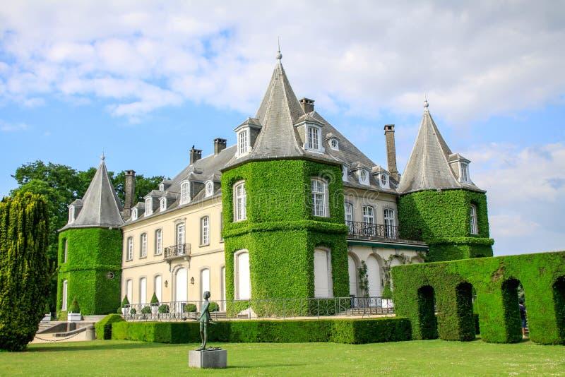 Das Schloss von La Hulpe lizenzfreie stockfotografie