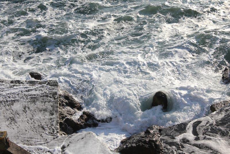 Das Schwarze Meer stockfotografie