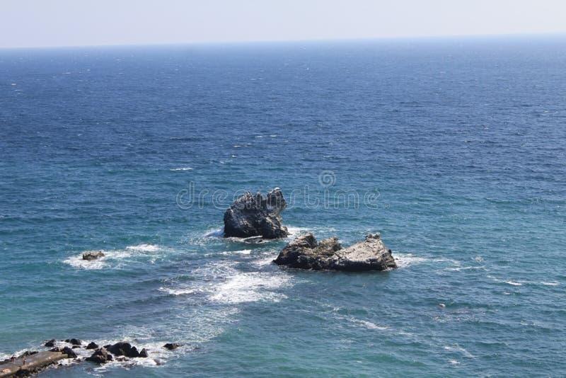 Das Schwarze Meer lizenzfreies stockbild