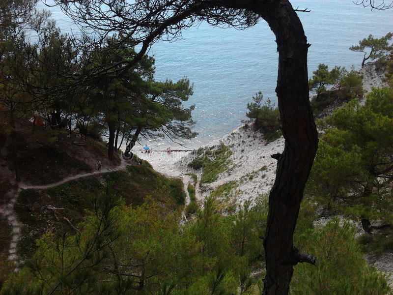 Das Schwarze Meer lizenzfreies stockfoto