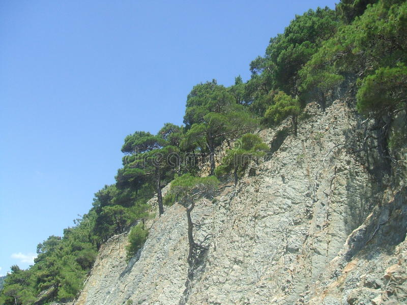 Das Schwarze Meer stockbilder