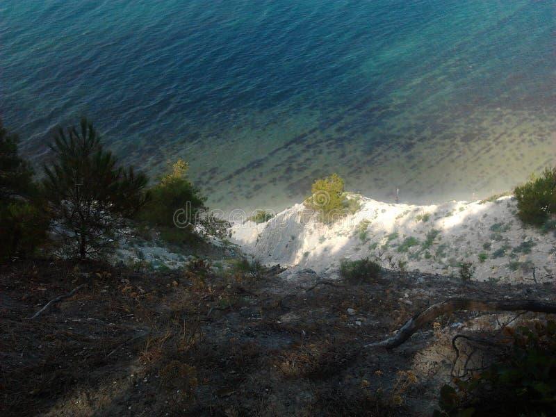 Das Schwarze Meer stockbild