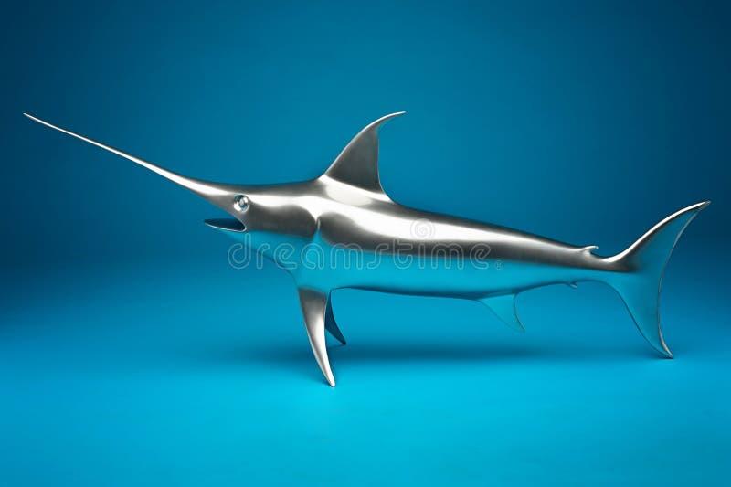 Das Schwertfischmodell stockfotos