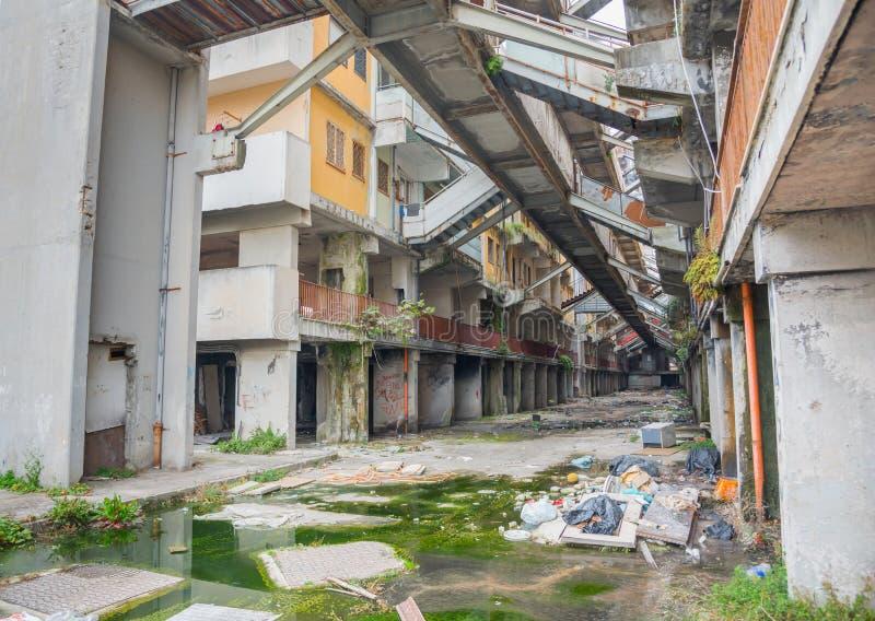 Das Segel von Scampia - Neapel - Italien lizenzfreie stockfotografie