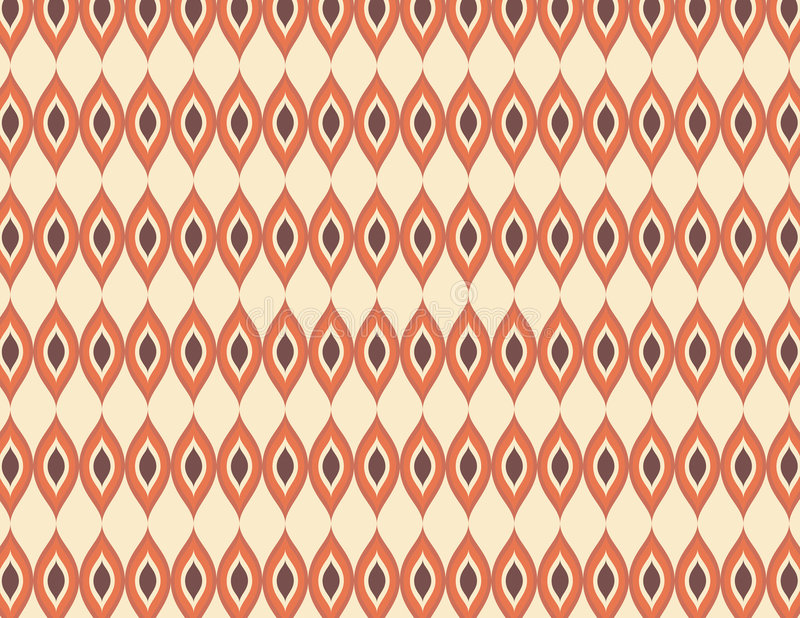 Das Seventie Muster 2 lizenzfreie stockfotos