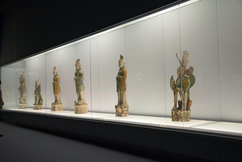 Das Shanghai-Museum in China lizenzfreie stockfotografie