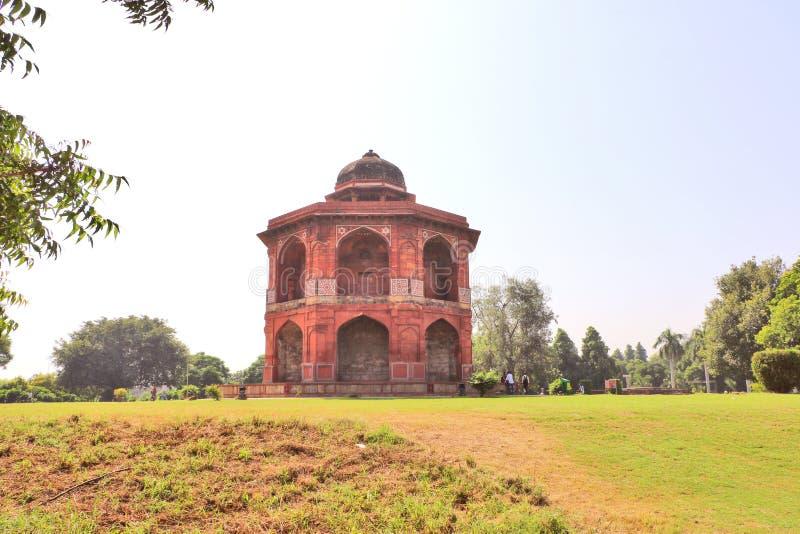 Das Sher Mandal ist ein Observatorium, achteckig in Form stockbild