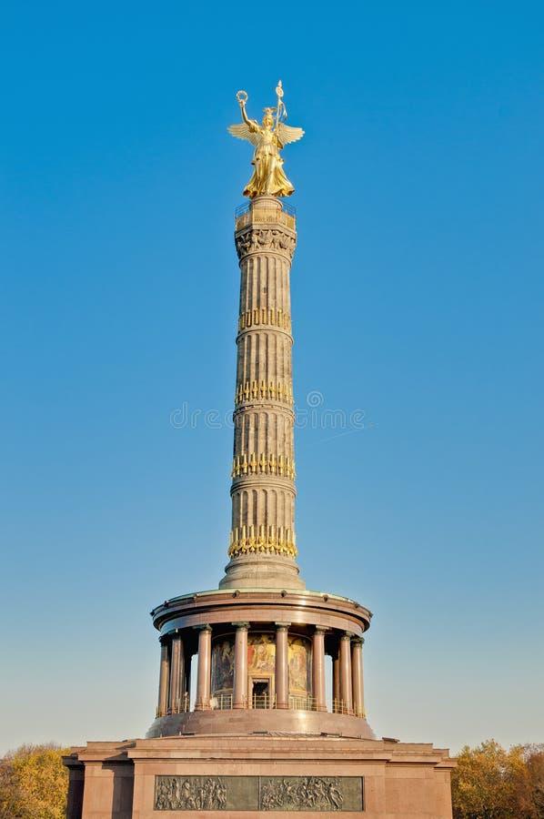 Das Siegessaule in Berlin, Deutschland stockbilder