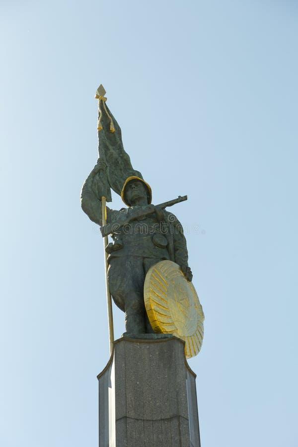 Das sowjetische Kriegs-Denkmal in Wien stockfoto