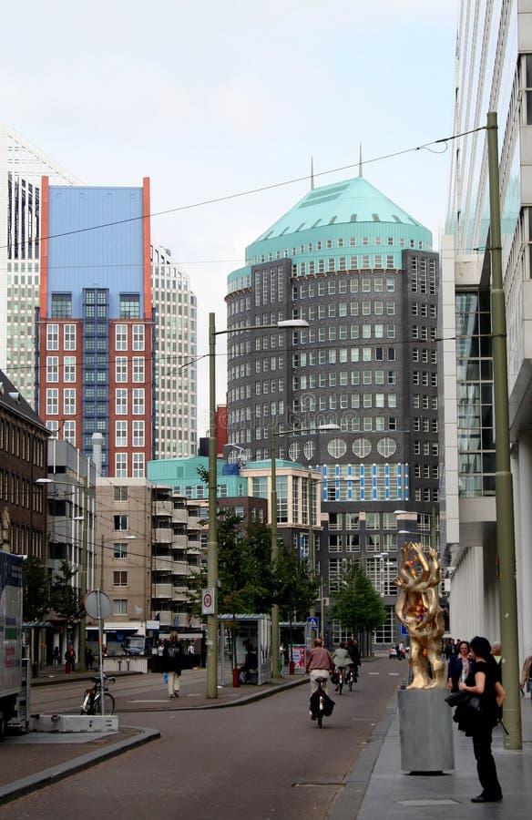 Das Spui-Ion die Mitte der Stadt lizenzfreie stockfotos