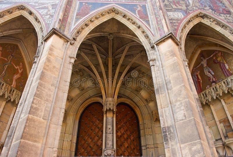 Das St. Vitus Cathedral Prag, Tschechische Republik stockfoto