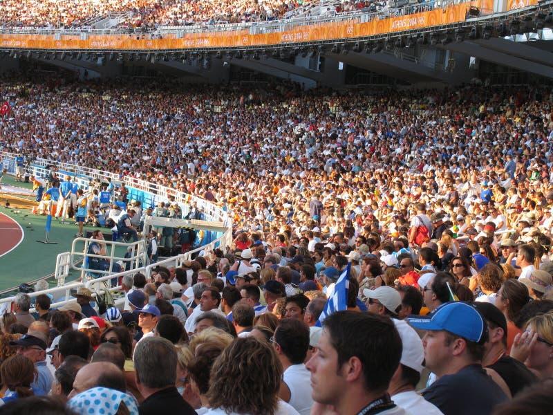 Das Stadion stockfotos