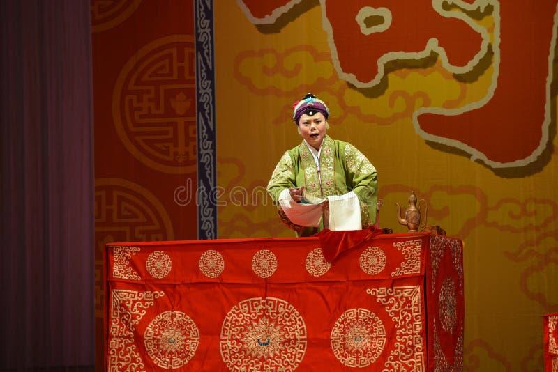 """Das Stadium der Ernennung Frauen von Kommandant-Peking Opera"""" Generäle von Yang Familyâ-€  lizenzfreie stockbilder"""