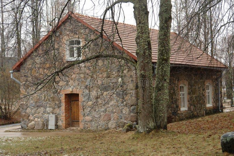 Das Steinhaus stockfoto