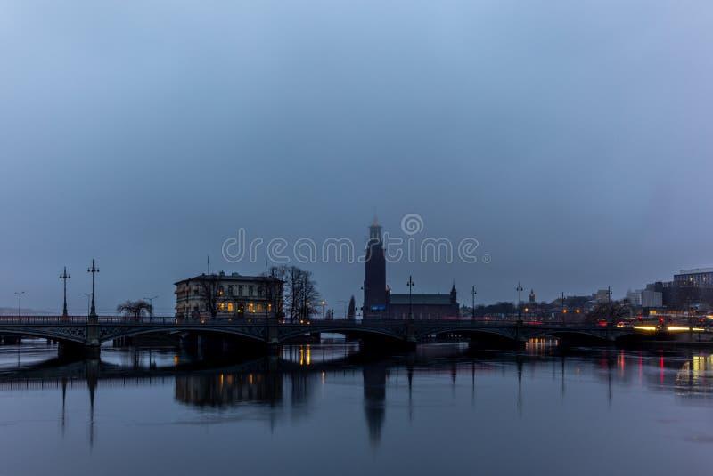 Das Stockholm-Rathaus lizenzfreie stockbilder