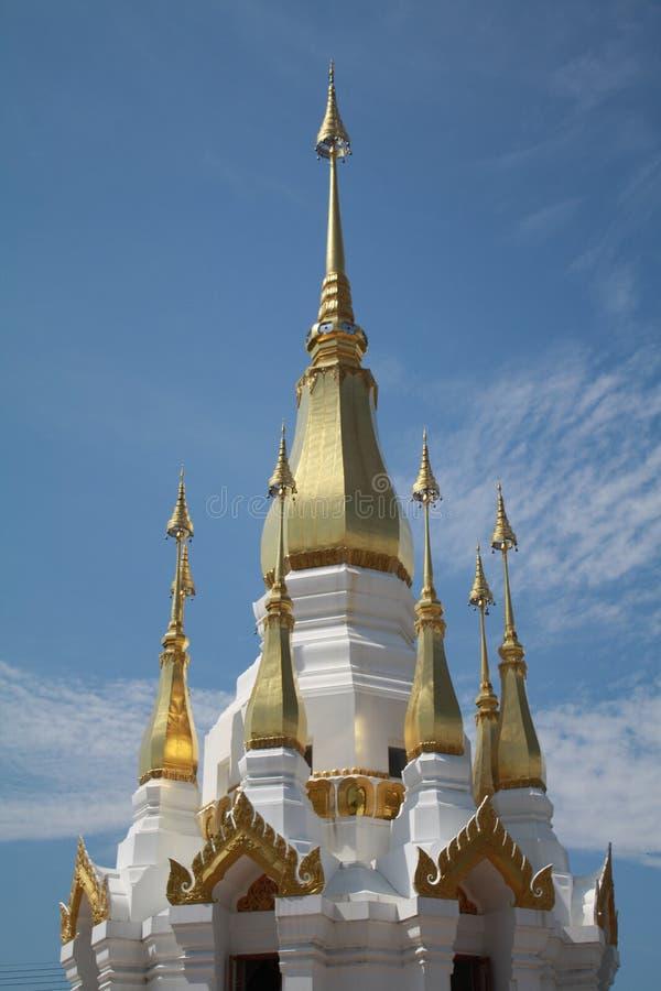 Das stupa in Ubon Ratchathani, Thailand stockfoto