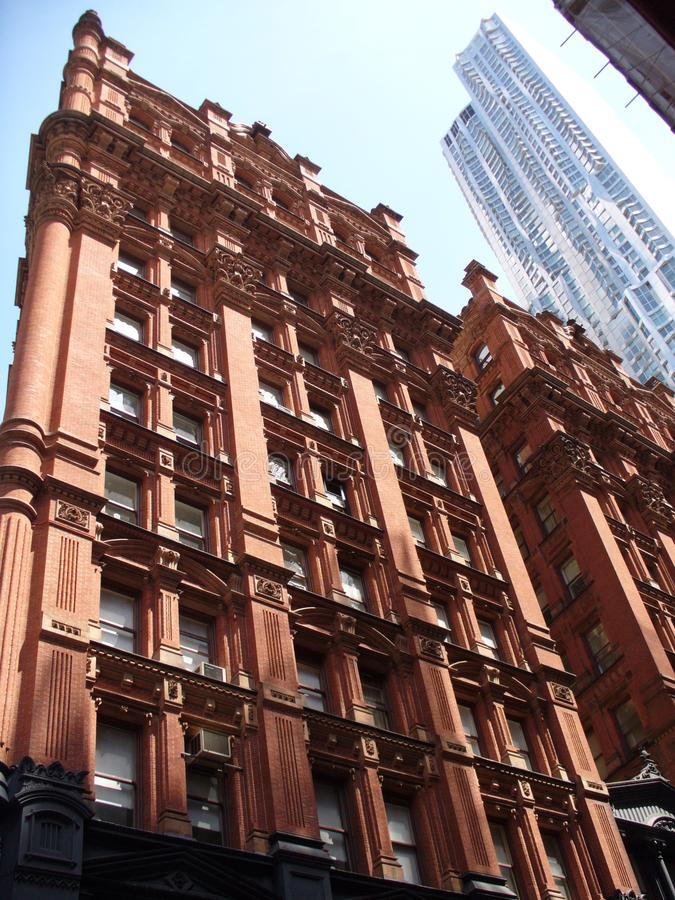 Das Töpfer-Gebäude in New York stockbilder