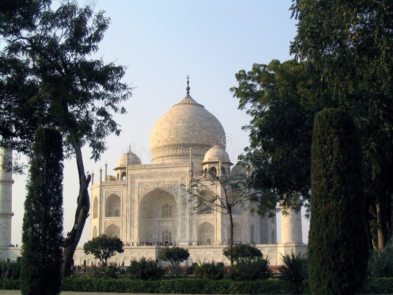 Das Taj Mahal in Agra stockbild
