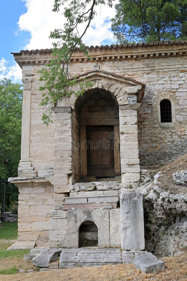 Das ` ` Templio Del Clitunno - Italien lizenzfreie stockfotografie