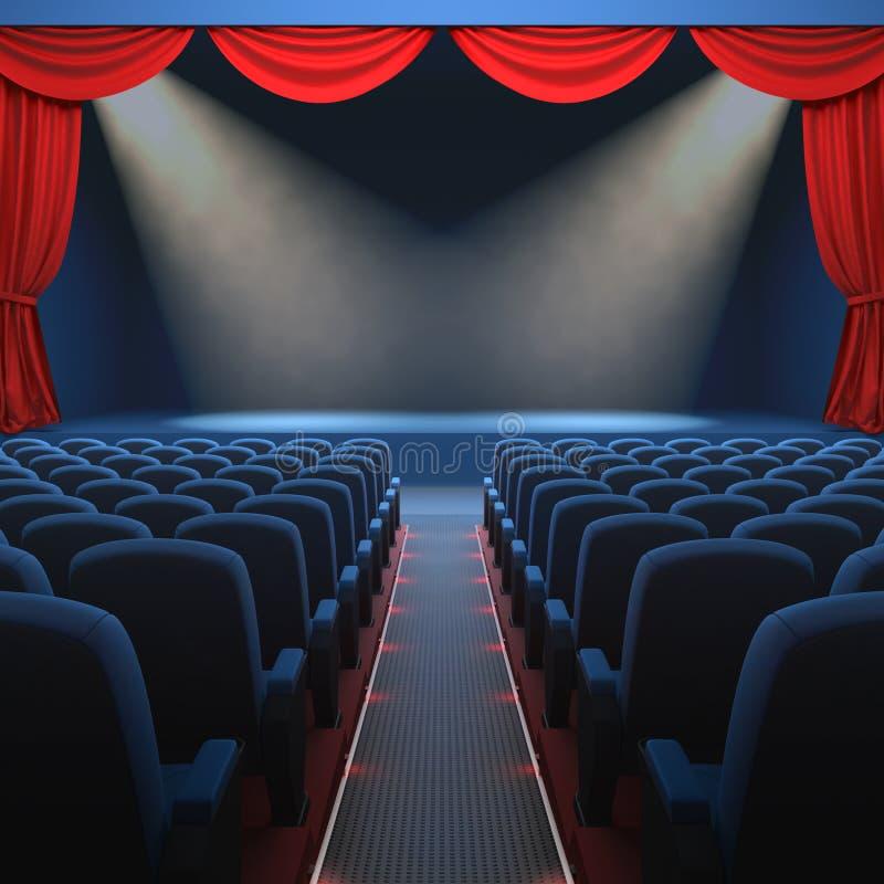Das Theater stock abbildung