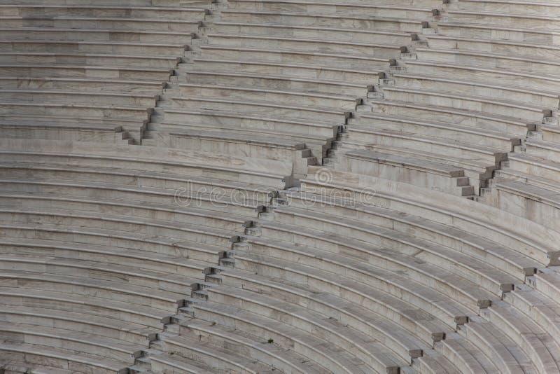 Das Theater in der Akropolise lizenzfreies stockfoto