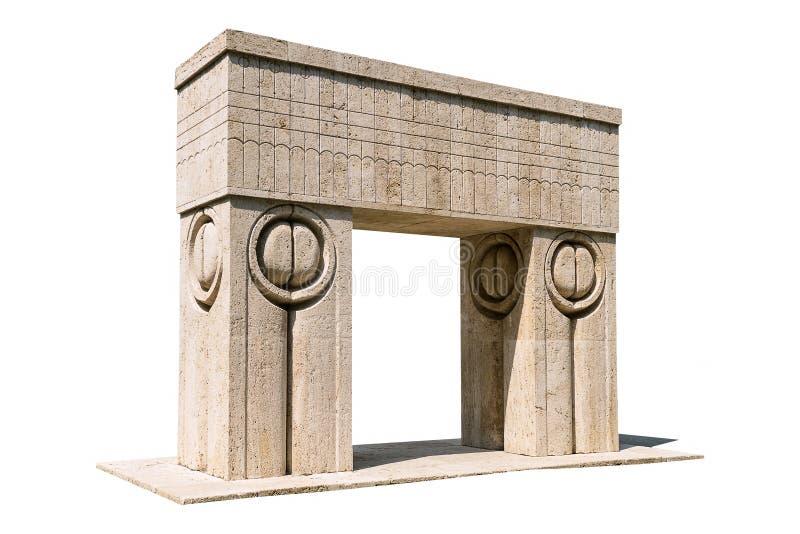 Das Tor des Kusses stockfotos