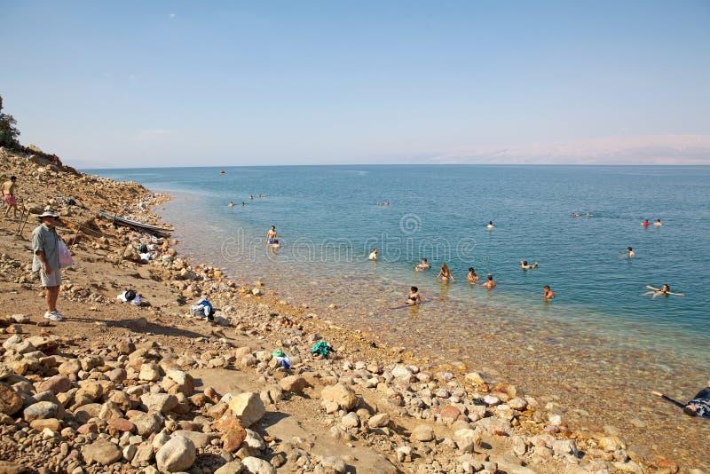 Das Tote Meer stockfotografie