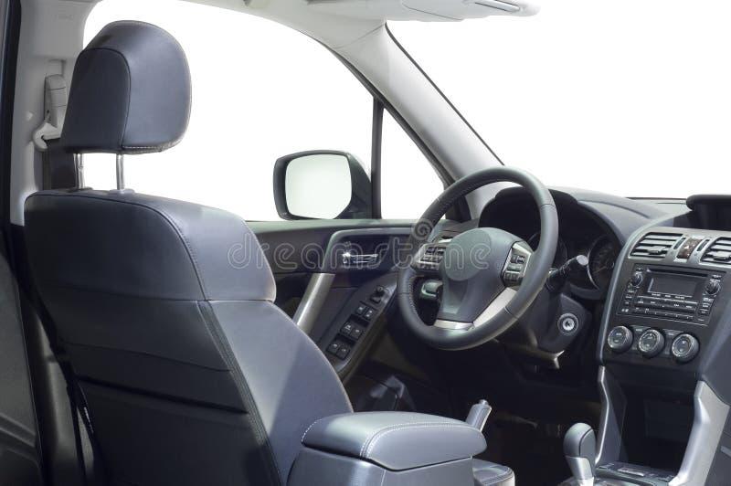 Das treibende Cockpit eines Autos. lizenzfreie stockfotografie