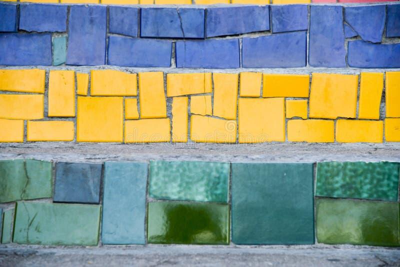 Das Treppenhaus Selaron stockfotos