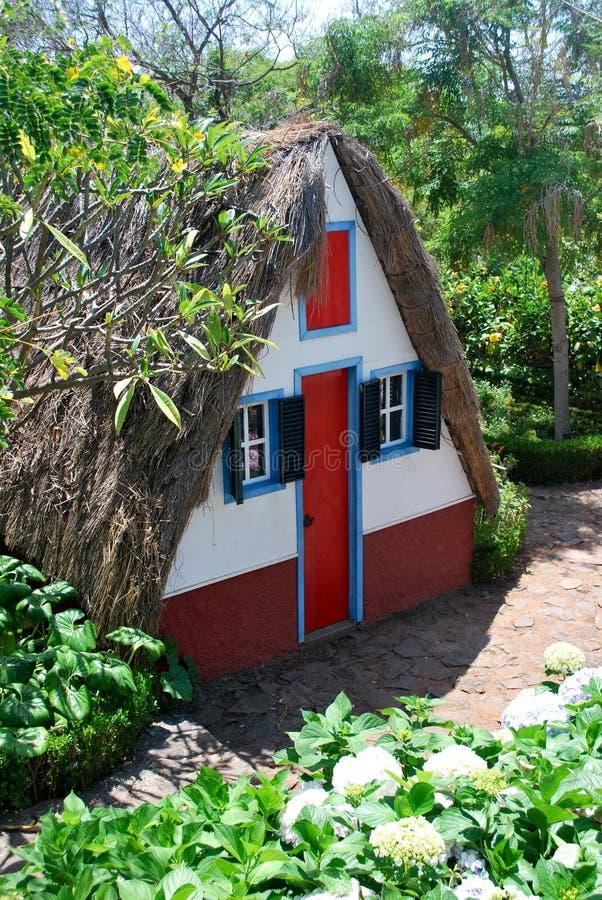 Das typische Haus in Madeira stockfotos