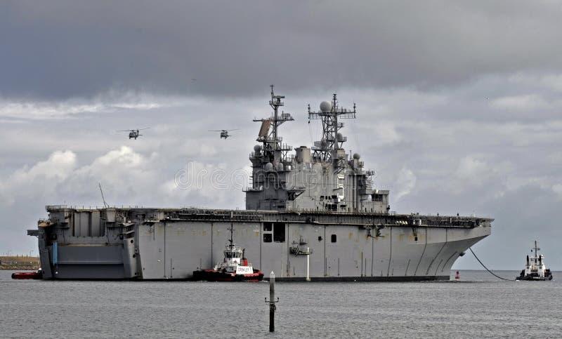 Das USS Peleliu (LHA-5) lizenzfreies stockbild