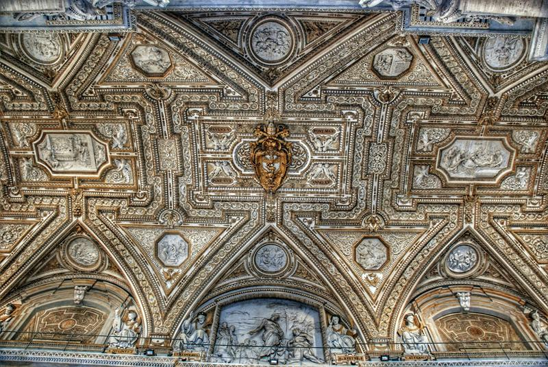 Das vatican-Museum lizenzfreies stockfoto